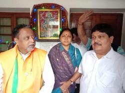 Trinamool Congress Mla Arjun Singh Went Mukul Roy S House Before Joining Bjp