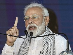 Narendra Modi Gives Message Nation That The Menace Terror Has To Be Eleminataed