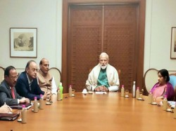 Pm Modi Chairs National Security Council Meet