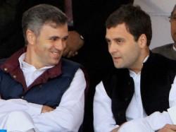 Omar Abdullah Gives Alliance Message Congress Lok Sabha Election