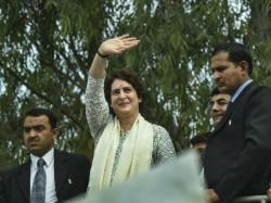 Priyanka Gandhi Indicates Whether She Become Candidate Of Congress In Loksabha Election