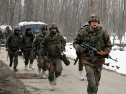 Two Terrorists Killed Search Operations Underway Kupwara Kashmir