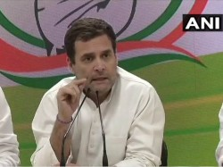 Congress Rahul Gandhi Promises Give Yearly 72 000 Rupees Basic Income Guarantee Scheme