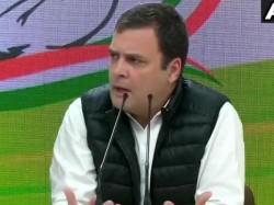 Congress President Rahul Gandhi Attacks Modi On Rafale Issue Again