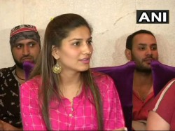 Sapna Chaudhary Join Bjp After Breakup With Congress