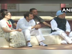 Congress Working Committee Meeting Underway Ahmedabad Sonia Rahul At Sabarmati Ashram