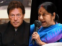 If Imran Khan Is So Generous He Should Give Us Masood Azhar Says Sushma