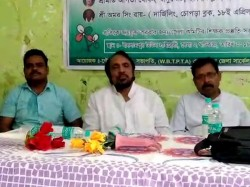 Tmc Candidate Raigunge A Meeting With Primary Teachers