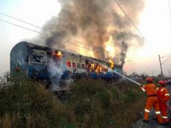 Pantry Car Tatanagar Yeswantpur Is Destroyed Fire
