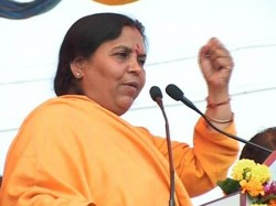 It Is Advani Clear The Mist Bjp Leader Uma Bharti