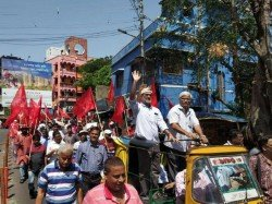 Bhangar Andolan Sanhati Committee Supports Cpim Arabul Doesn T Care