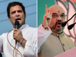 Amit Shah Targets Rahul Over Police Action Against Techies Bengaluru