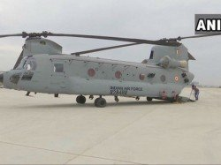 Indian Air Force Inducts Four Chinook Heavy Lift Choppers
