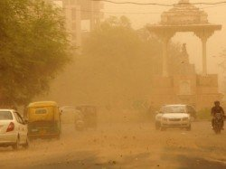 Weather Office Forecast Dust Storm Gusty Wind Blow Over Rajathan