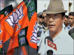 Gjm Gurung Gives Message Support Bjp Allies With Gnlf