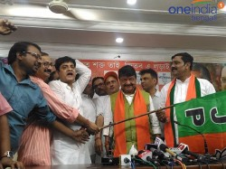 Tmc Leaders And Workers Join In Bjp At Kolkata North Before Lok Sabha Election