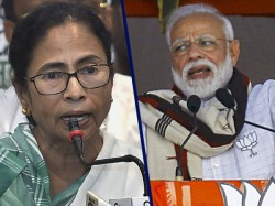 Narendra Modi Gives Mamata Banerjee S New Name As Sticker Didi