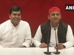 Bjp Mp Ram Charitra Nishad Joins In Samajwadi Party Leaving Bjp