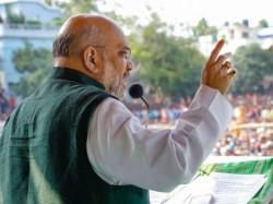 Amit Shah Tells In Uluberia How To Make Tmc Attack Free Bengal