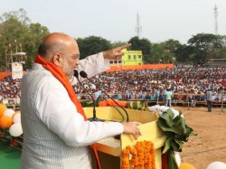 Amit Shah Criticised Tmc From His Krishnagar And Rampurhat Meeting