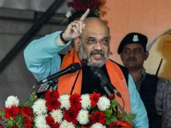 Congress Doing Ilu Ilu With Terrorists Says Amit Shah At Vijay Sankal Rally