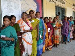 Polling In Andhra Pradesh Ends At 1am As Evm Problem Force Voters To Wait Till Midnight
