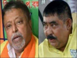 Bjp Leader Mukul Roy Criticised Tmc S Anubrata Mondal From His Rampurhat Meeting