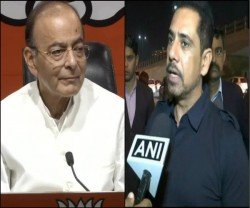 Robert Vadra To Campaign For Congress In Uttar Pradesh Arun Jaitley Attacks