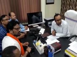Babul Supriyo Filed His Nomination From Asansol