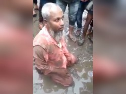 Accused Of Selling Beef Assam Muslim Man Allegedly Forced To Eat Pork