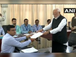 Narendra Modi Files Nomination From Varanasi Parliamentary Constituency