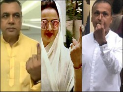 Sonali Bendre Aamir Khan And Other Bollywood Celebs Step Out Cast Their Votes Lok Sabha Election