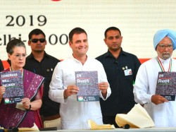 Highlights Of Rahul Gandhi S Top Promises In Congress Manifesto