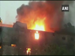 Fire Breaks Out At A Chemical Factory Due To Short Circuit In Jhilmil Industrial Area