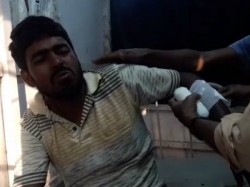 Tmc Councillor S Husband Allegedly Beaten By Cpm And Congress Goons Domkal