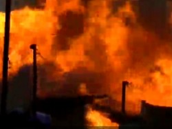 The Devastating Fire Spreads In Berth Of Haldia Port