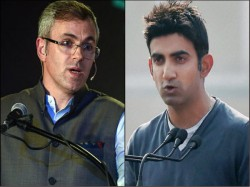Omar Abdullah And Gautam Gambhir Get Into Twitter Fight Over Kashmir And Pakistan Issue