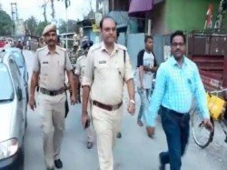Central Force Patrolling In Different Parts Of Jalpaiguri