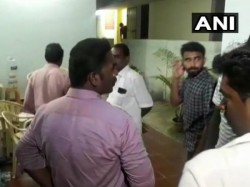 Raid At Dmk Leader Kanimozhi S House After Raid It Official Say False Information