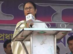 Mamata Banerjee Attacks Cpm And Bjp Except Adhir Choudhury From Her Beldanga Meeting