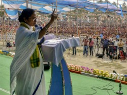 Mamata Banerjee Attacks Bjp From Her Darjeeling Meeting