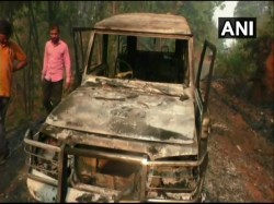 Maoists Kill Polling Official In Odisha Torch Vehicles Ahead Of 2nd Phase Of Ls Poll
