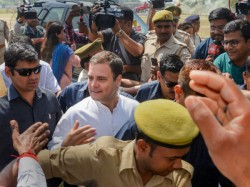 Laser Possibly From Sniper Gun Aimed At Rahul Gandhi In Amethi Claims Congeress