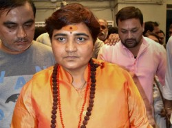 Bjp Fields Sadhvi Pragya Singh Thakur Against Digvijaya In Bhopal