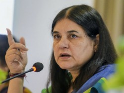 Maneka Gandhi Sparks Massive Row With Vote For Me Or Else Remark