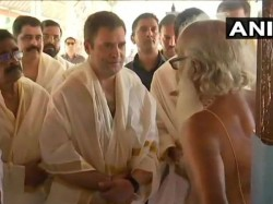 After Performs Ritual At The Thirunelli Temple Rahul Gandhi Began His Campaign In Kerala S Wayanad