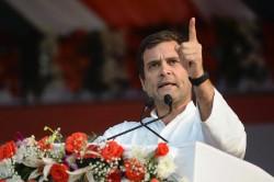 Rahul Gandhi To File Nomination From Kerala S Wayanad Today