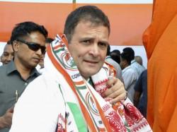 Rahul Gandhi S Big Wayanad Congress President Files Nomination