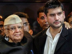 Nd Tiwari S Son Rohit Shekhar Brought Dead To Delhi Hospital