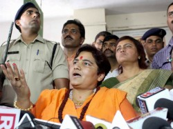 Sadhvi Pragya Claims Hemant Karkare Died In Terror Attack Because She Cursed Him